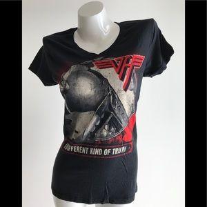 NEW Women's Van Halen 2012 Tour V Neck T shirt